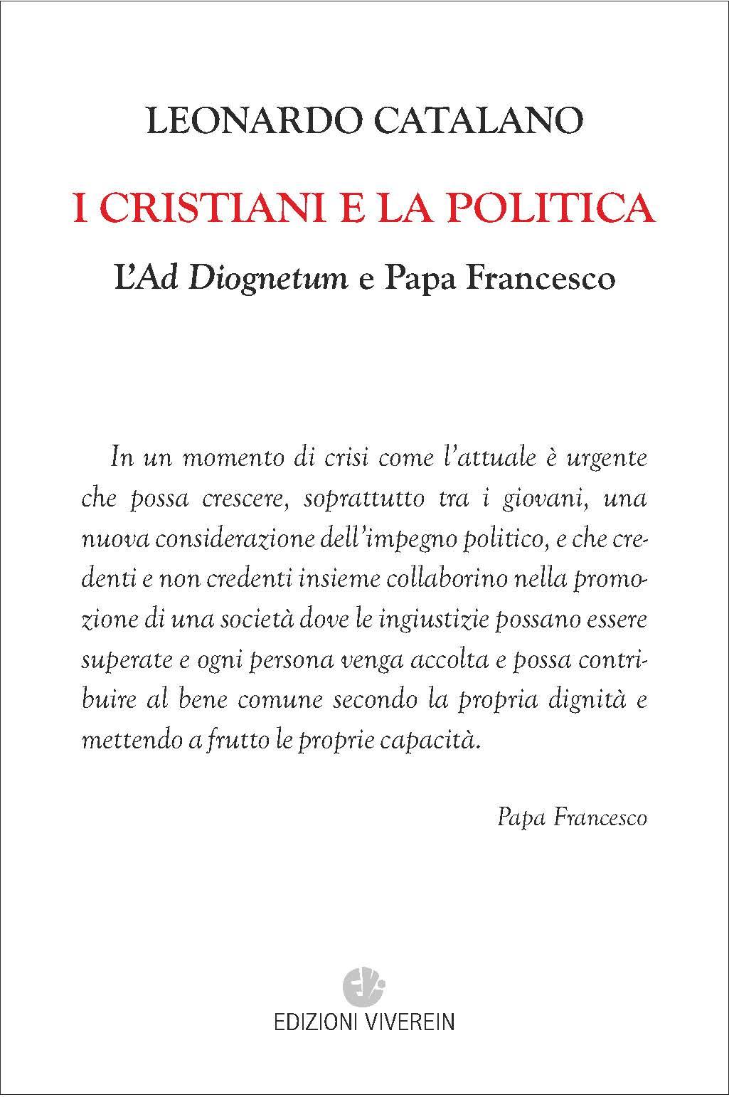 I cristiani e la politica